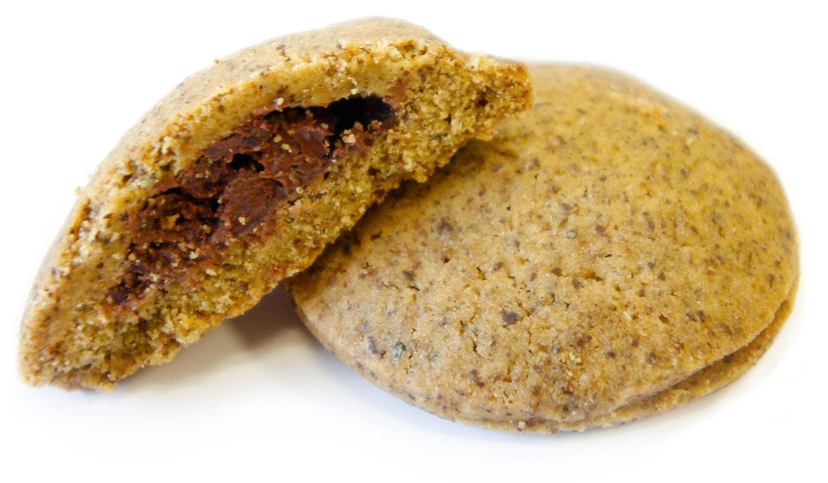 Biscotti canapa e cioccolato